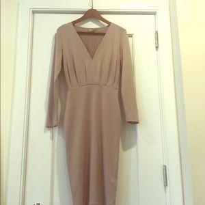 ASOS midi dress in size 2.